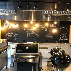 ↓↓↓ BBQ Appliance Company WEBER, Aoyama Tokyo ↓↓↓