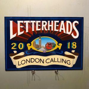 ↓↓↓ London Letterheads 2018 ↓↓↓