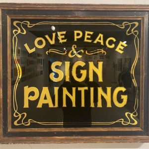 Love Peace & Sign Painting