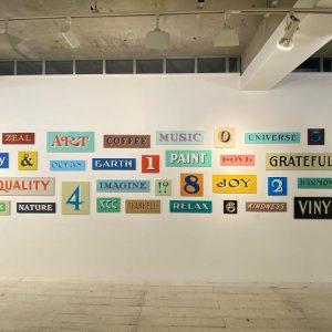 "Modern Twist Signs Solo Exhibition ""No Filter"""